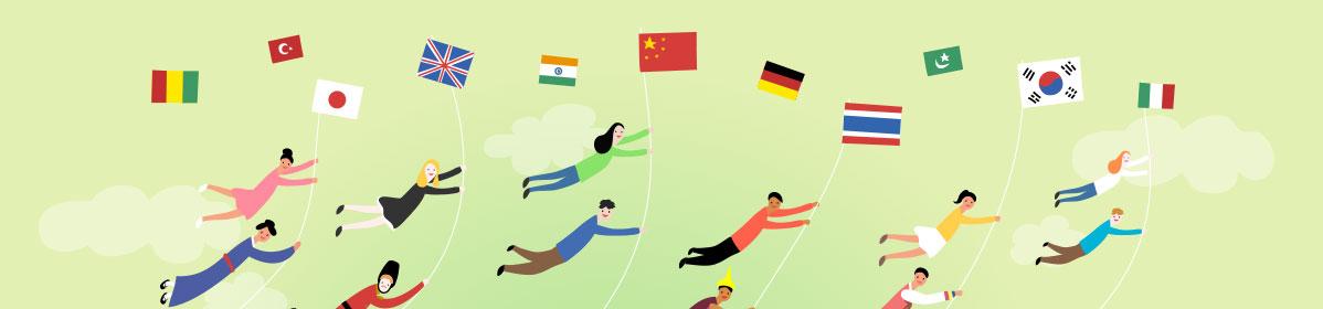 多国语言,覆盖全球
